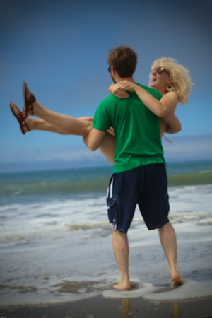 Olivia and Eric on Honeymoon