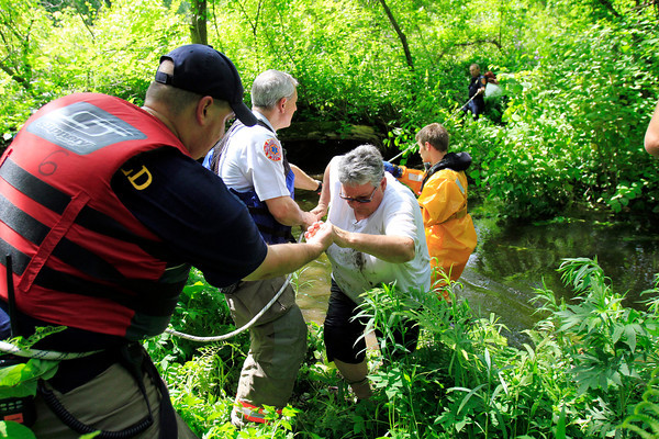 Housatonic River Kayaker Rescue