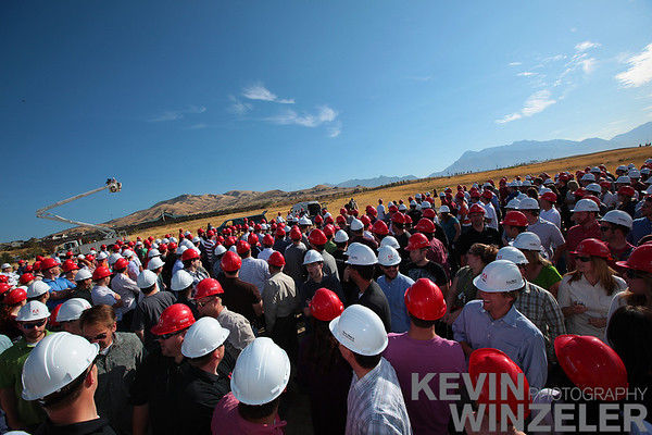 Adobe Utah Site - Ground Breaking Ceremony