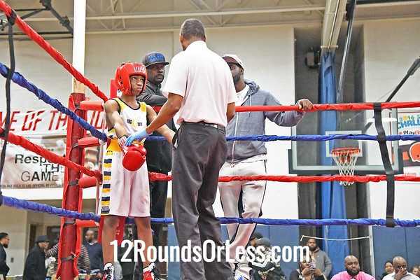 Bout #2:  Harkirat Gill, King of the Ring BC, Ontario, Canada   vs  Jammie Bryant, Bob Davis Boxing, Cleveland, OH  -  100 Lbs.
