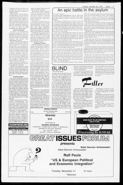 SoCal, Vol. 65, No. 43, November 20, 1972