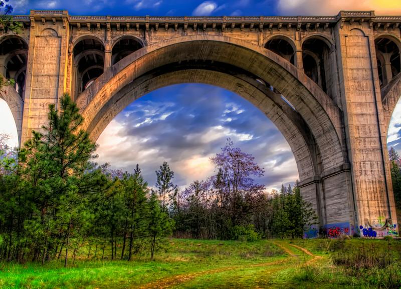 Path Under the Bridge