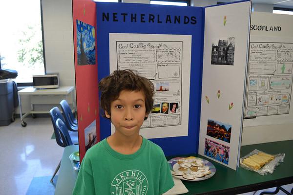 Third Grade Trip Around World