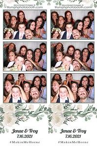 7/16/21 - Jenae & Troy Wedding