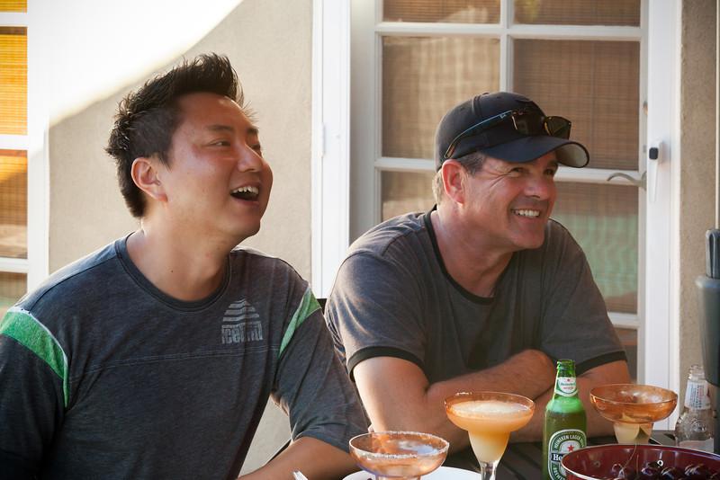 Jason and Brian