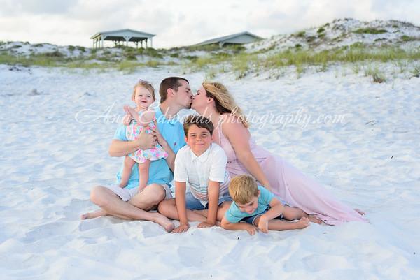 The Howell family  |  Panama City Beach
