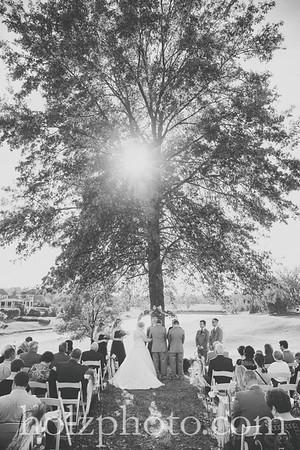 Melissa & Robbie B/W Wedding Photos