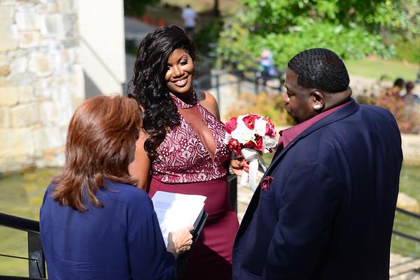 Laquidia And Tony Wedding