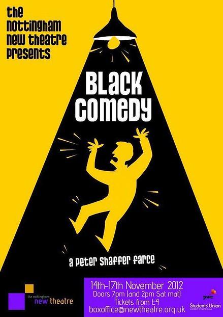 Black Comedy poster