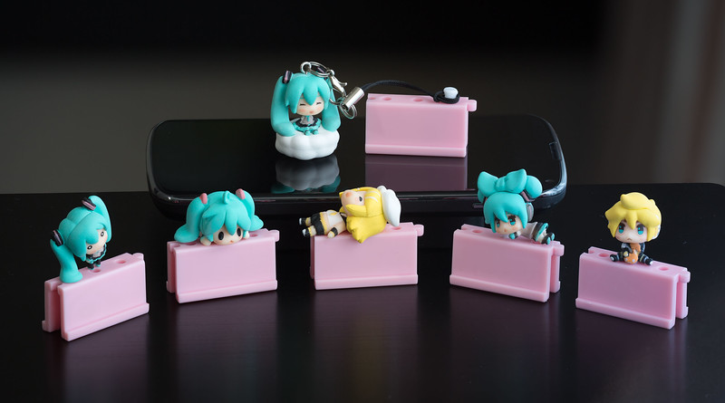 Character Vocal Series headphone jack accessory collection