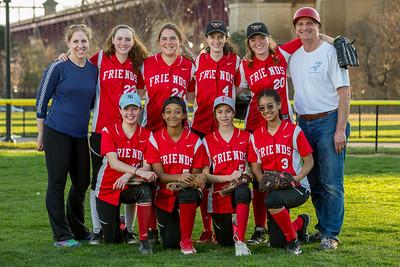 Varsity Girls Softball vs. Nightingale   April 12, 2017