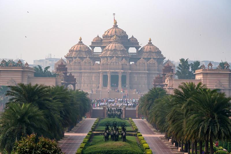 Akshardham Temple in Delhi, India