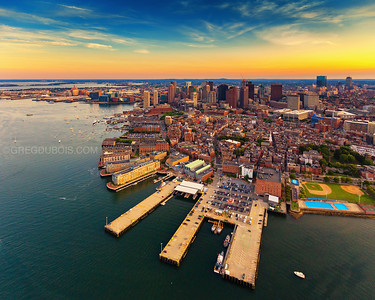 Boston Aerial Photography