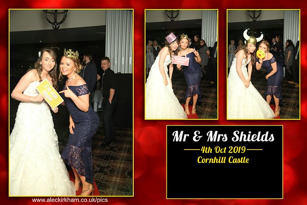 Mirror Booth Hire - Mr & Mrs Shields