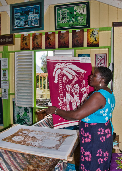 Caribelle Batik produced its first batik in 1974