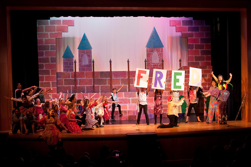 """""""Once Upon a Mattress,"""" Imagination Stage summer camp, Aug 12, 2009"""