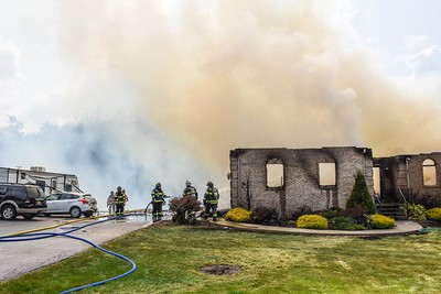 Hopewell Township residential structure fire