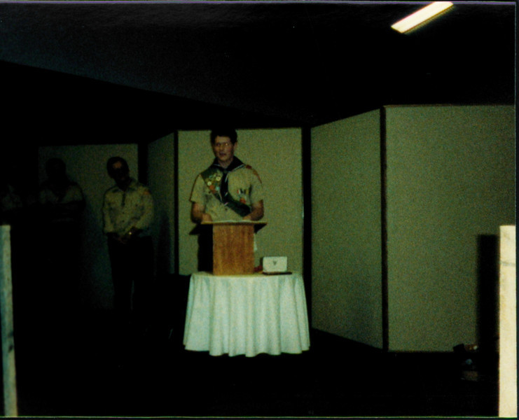 Stephen's Eagle Scout Ceremony