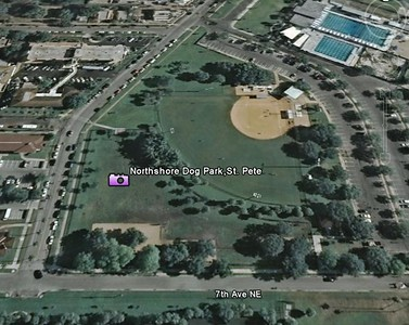North shore Dog Park ,7TH Ave And N Shore Dr NE St. Petersburg, FL 33705
