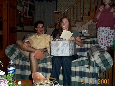 Laura & Dan's Wedding Shower - May 19, 2001