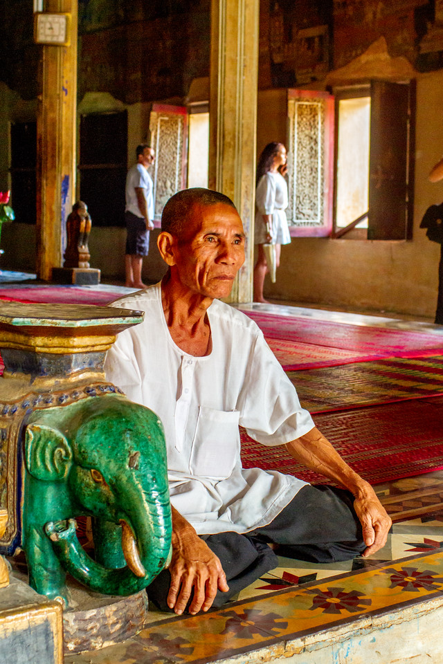 Photo: The Elder of Wat Bo in Siem Reap, Cambodia