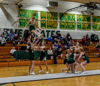 Set one: VIHS Winter Cheer at Girls Basketball v Cascade Christian 01/15/2019