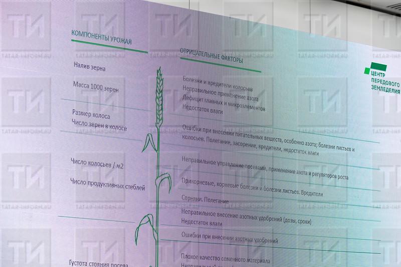 11.02.2021 - Круглый стол  «Эффективность минерального питания в условиях РТ» в рамках выставки Министерства сельского хозяйства и продовольствия РТ. Реклама ( фото Салават Камалетдинов)