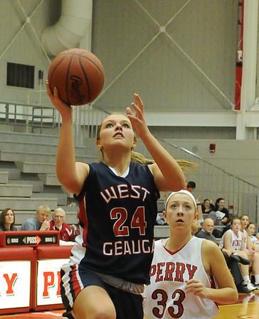 WGHS Girls BB vs Perry