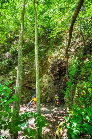 Katy Trail #4 - Trees & Tunnels