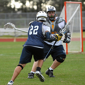 Holy Trinity Lacrosse Practice