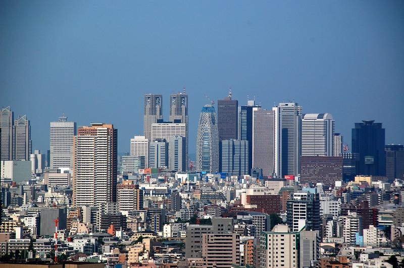 Shinjuku viewed from Tokyo Dome Hotel