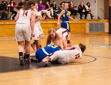 Hall-Dale JV Girls VS Boothbay