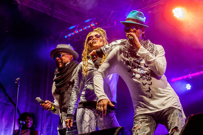 Shalamar at Jack up the 80s 2018