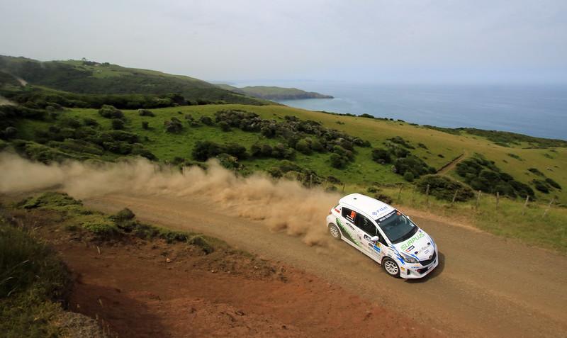 Kosuke Masai, Toyota Vitz RS, SS2 Whaanga Coast 1.