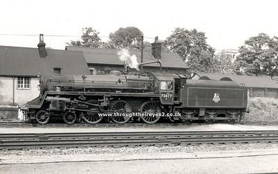 75065-75077 Built 1955 Swindon