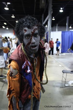 Saturday Wizard World Chicago Comic Con 2012