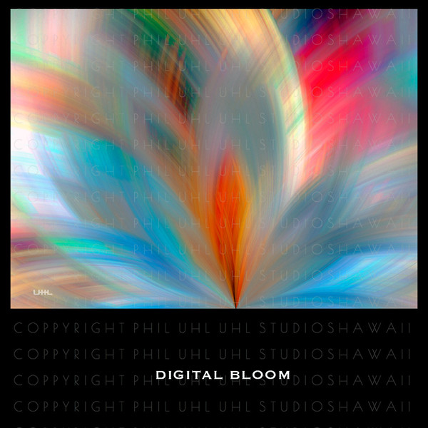 """Digital Bloom"" Digital Painting"
