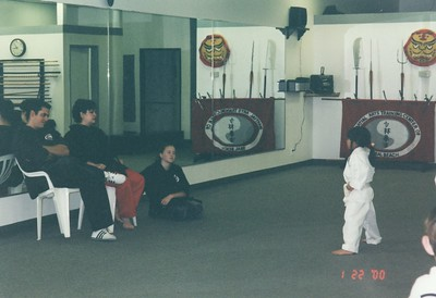 Sydney Karate White Belt 2000