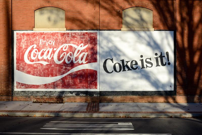 GA, Rome - Coca-Cola Wall Sign 02