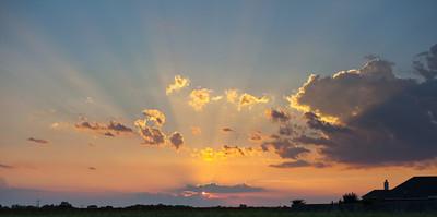 Sunset over Princeton Meadows