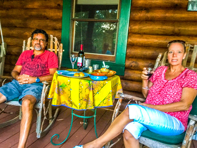 Eddie & Karen Quintero Visit - 9-30-16