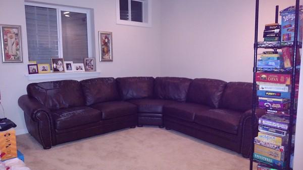 2016-05-09 Preparing For New Sofa - Family Room