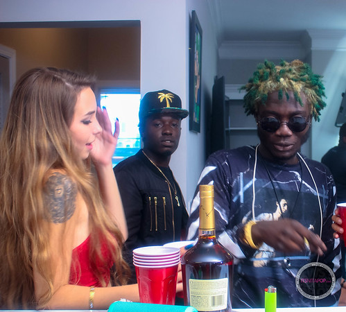 Behind the Scenes Criss Waddle ft Stonebwoy Video Directed by Patrick Elis