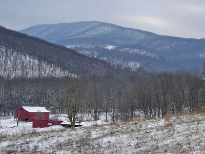 First Real Snow of 2005 -- Hardy County, WV