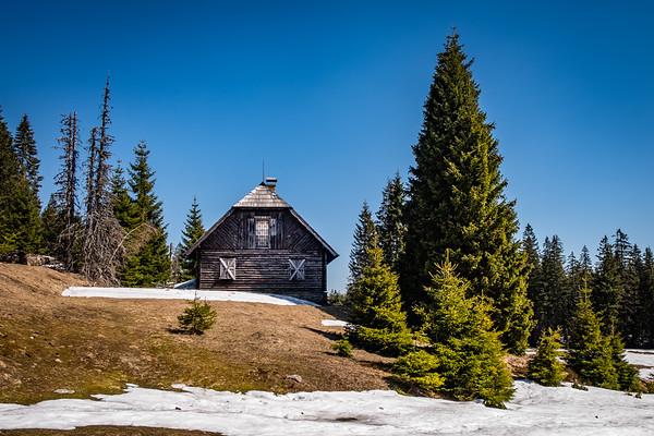 Šumava - Medvědí hora - Roklanská chata