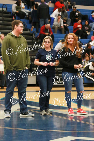 Homecoming Court Presentation 1/18/19