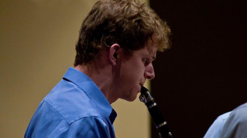 Clarinet - playing at Skidmore