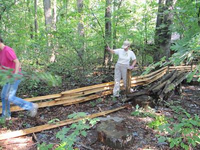 Hidden Oaks Fence Project