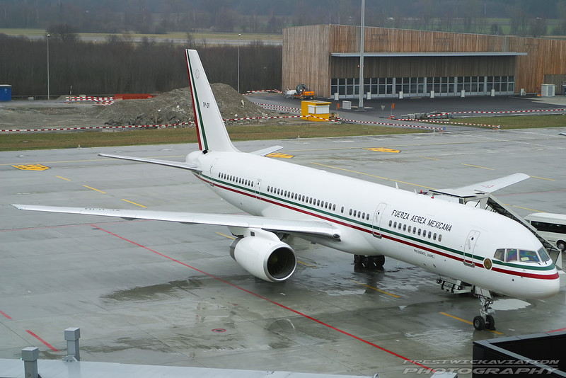 TP-01. Boeing 757-225. Mexican Air Force. Zurich. 260103.
