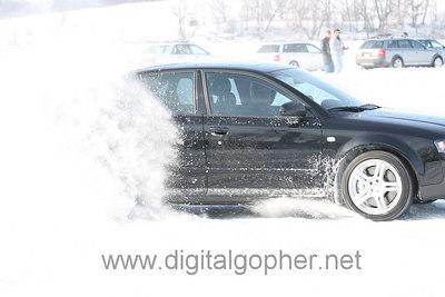 Ice Driving at Lake Cynthia Feb 2007